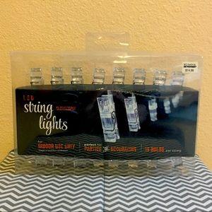 LED String Lights Clothespins